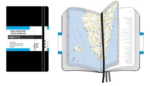 Moleskine City Notebook New York, Pocket, Hardcover, schwarz