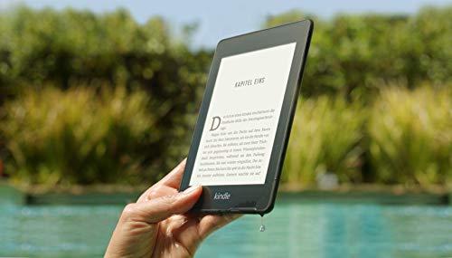 Kindle Paperwhite, wasserfest, 6Zoll (15cm) großes hochauflösendes Display, 8GB – mit Werbung - Schwarz