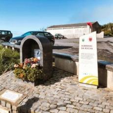 Parkplatz und Start nach Rocha da Relva