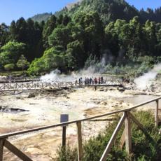 Die dampfenden Quellen