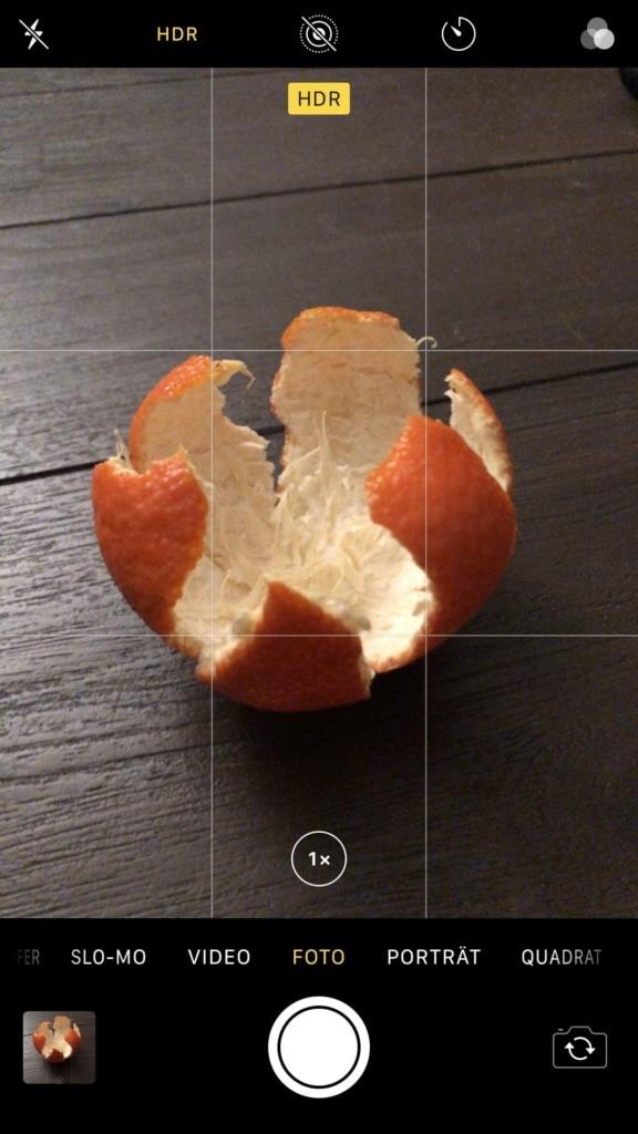 HDR in den iPhone Kamera Einstellungen aktivieren