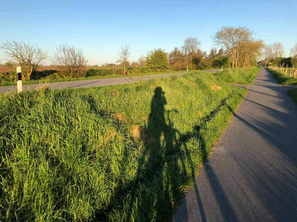 Mit dem Fahrrad über die Insel Föhr