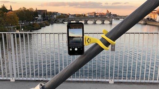Reisefotografie: Positioniere dein iPhone dort, wo du es gerade brauchst