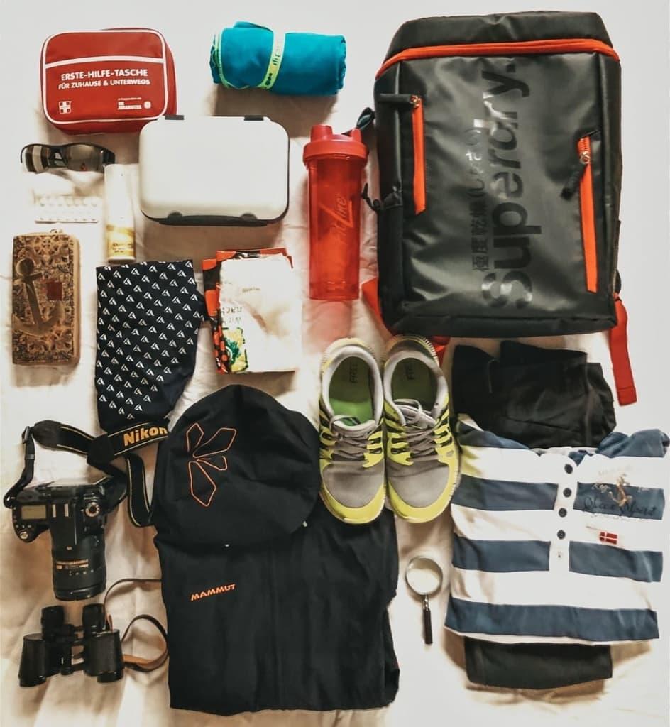 Meine Rucksack Packliste für die Wattwanderung