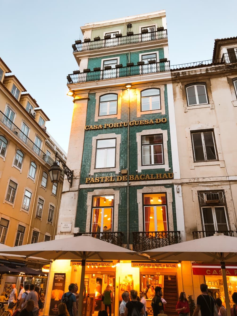Das Casa Portuguesa do Pastel de Bacalhau