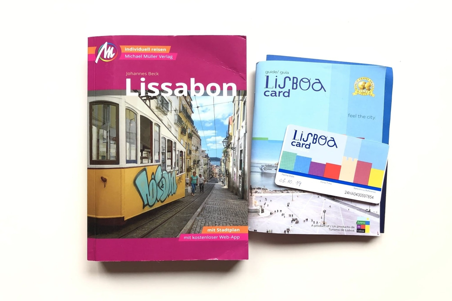 Lissabon Reiseführer und Lisboa Card