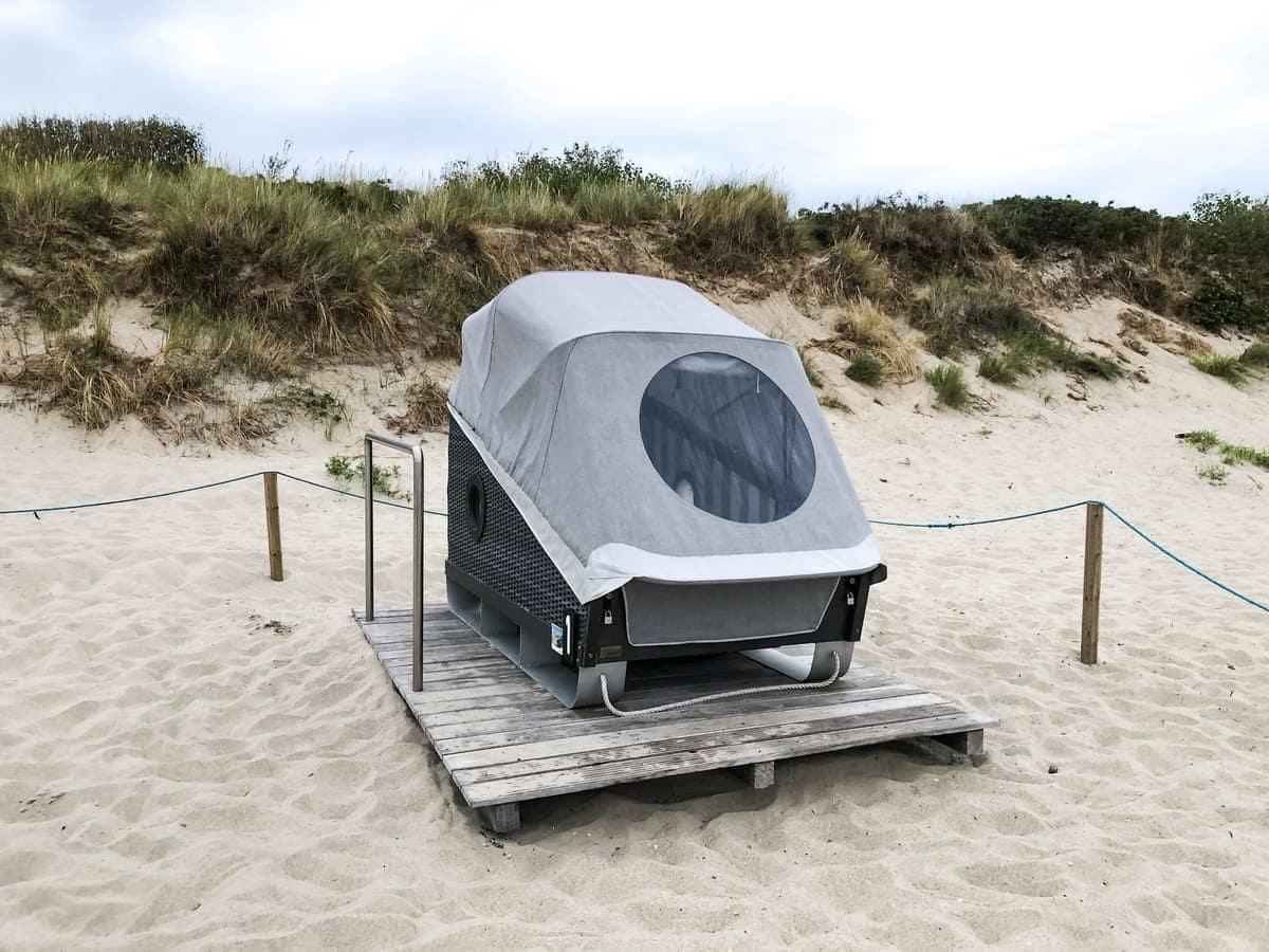 Strandschlafkorb Foehr